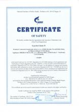 Certificate of safety<br>SynchroVitals IV Integratore alimentare Synchrovitals IV, 60 capsule