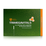 Integratore alimentare Trimegavitals. All-natural beta-carotene ind sea buckthorn oil, 30 capsule 500060